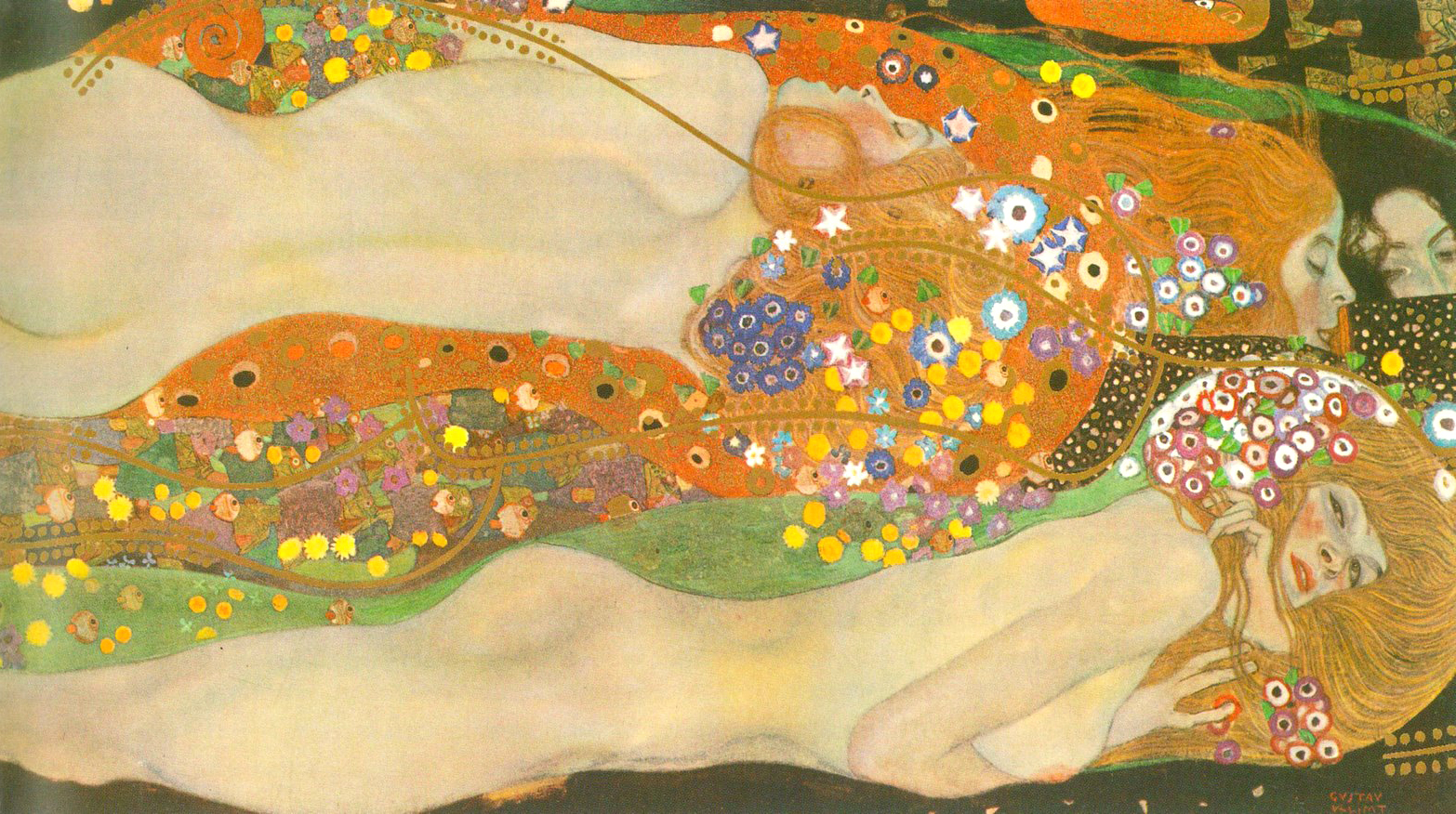 Gustav Klimt, Water Snakes II