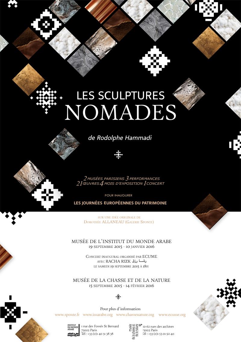 Les Sculpture Nomades de Rodolphe Hammadi