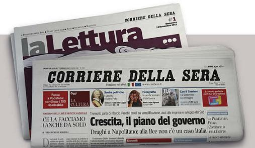"""#12 SONDAGGIO """"la Lettura"""" del """"Corriere della Sera"""" ha cambiato veste grafica. Ti piace?"""