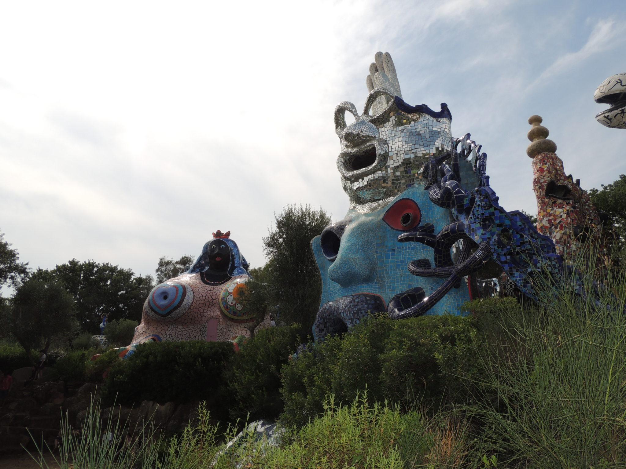 Gli Arcani Maggiori del Giardino dei Tarocchi di Niki de Saint Phalle