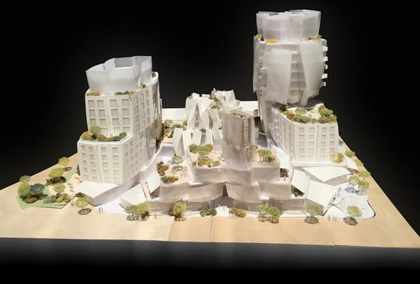 Frank Gehry, Sunset Boulevard