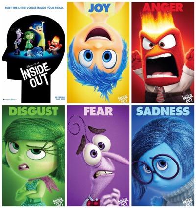 In arrivo nelle sale italiane Inside Out della Pixar
