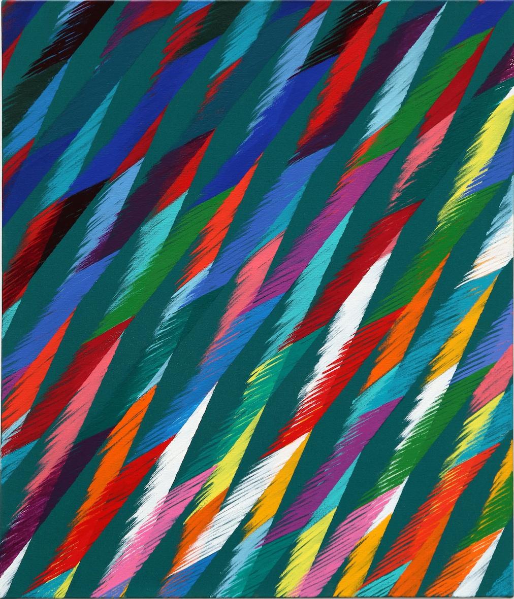 Le vibrazioni di colore di Piero Dorazio in mostra da Lorenzelli Arte a Milano