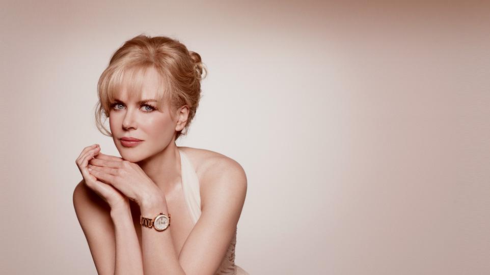 Una splendida Nicole Kidman alla Triennale per Omega