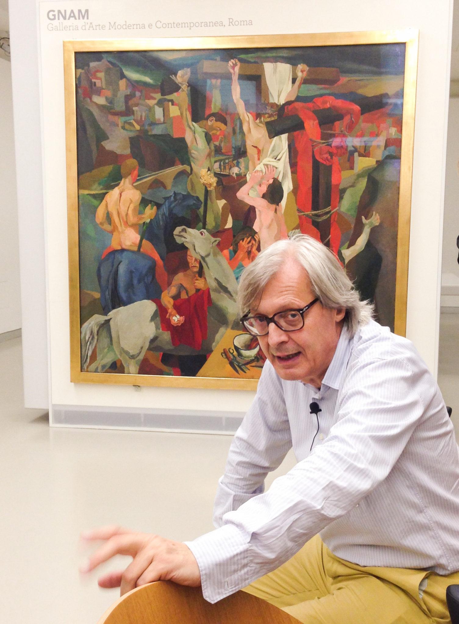 SisalPay / Vittorio Sgarbi / Museo del Novecento