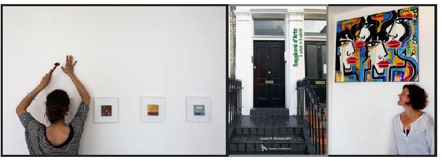 Soggiorni d'arte a Londra. 9 artisti in 9 salotti