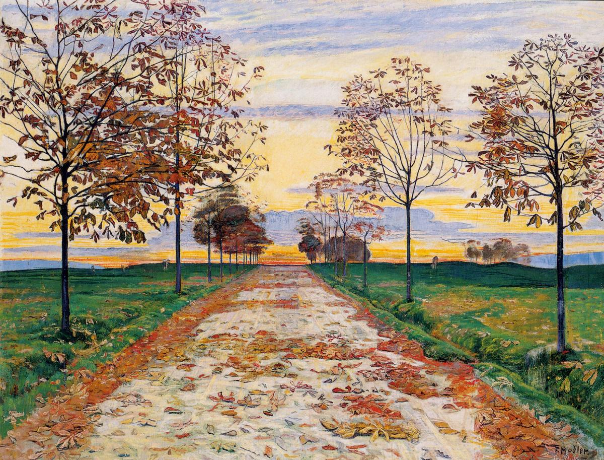 Ferdinand Hodler - Autumn Evening, 1892