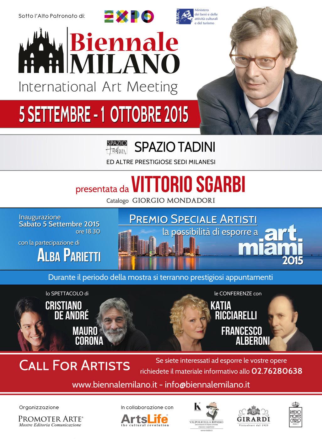 In arrivo la Biennale Milano da Spazio Tadini
