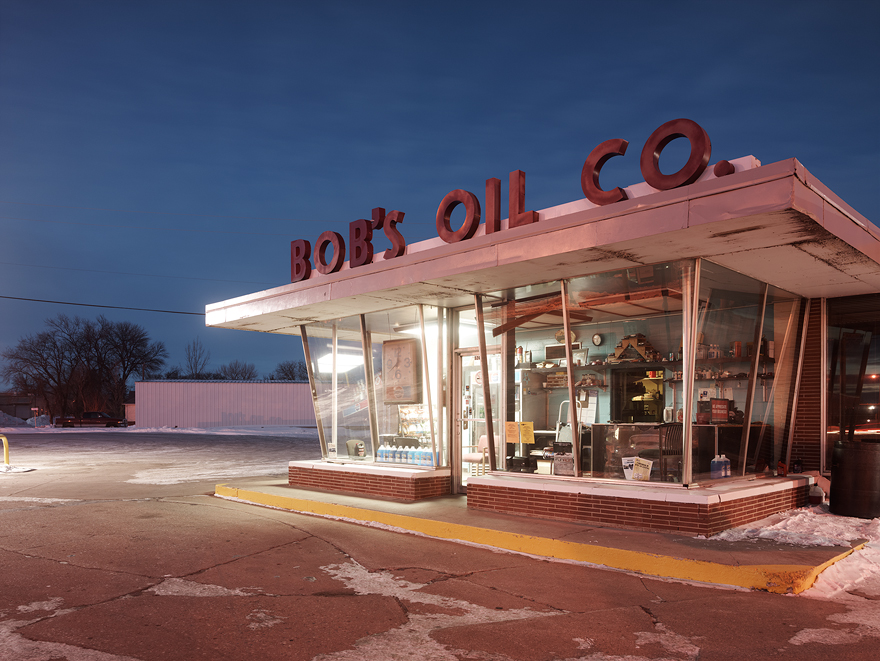 Josef Hoflehner - Bob's Oil, Grand Forks, North Dakota, 2014