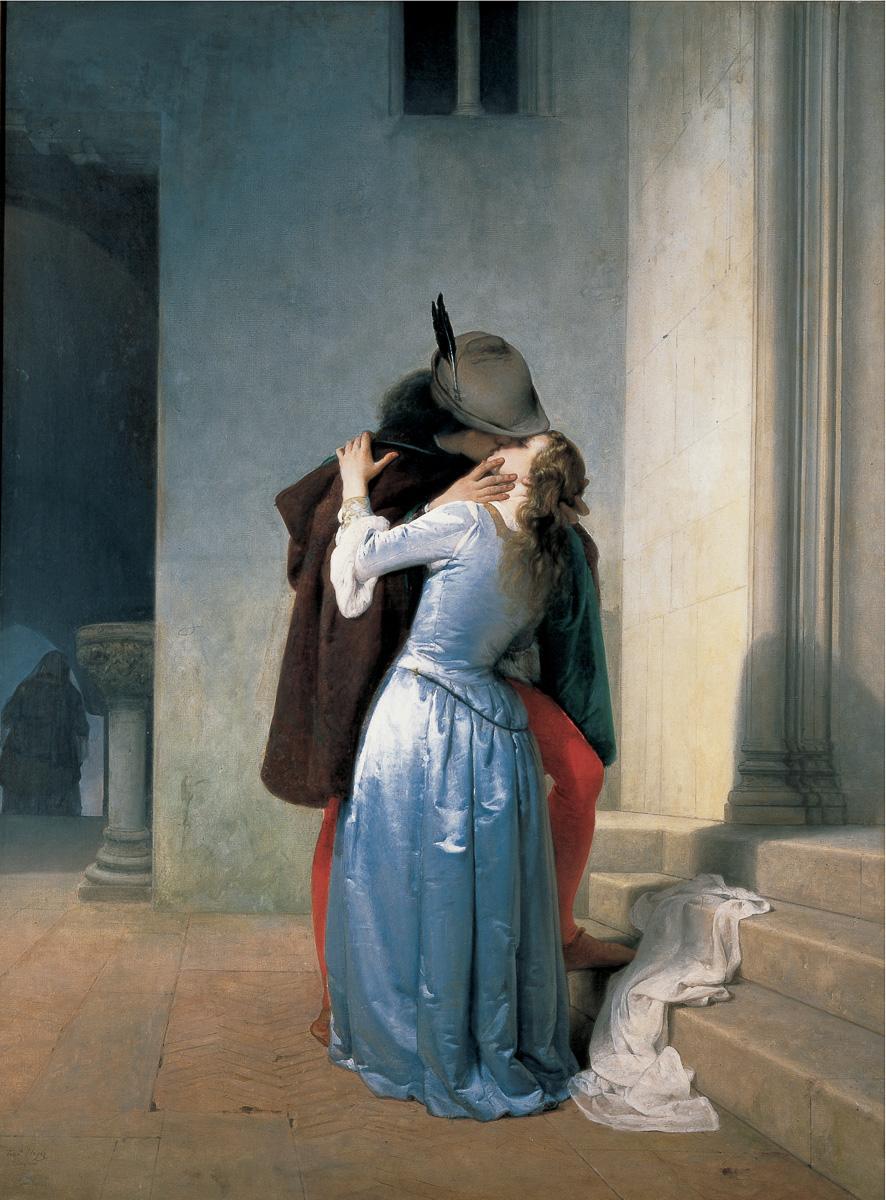 I baci di Hayez alle Gallerie d'Italia di Milano