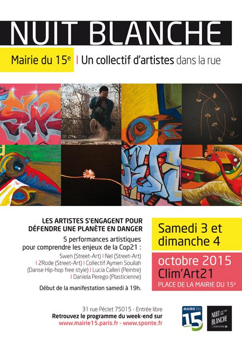 Nuit blanche 2015: CLIM'ART21
