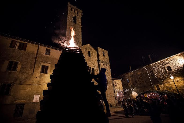 Abbadia di San Salvatore, notte del 24 dicembre