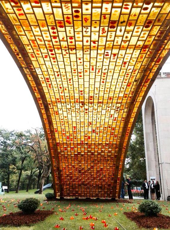 Il ponte d'oro sulla via della seta