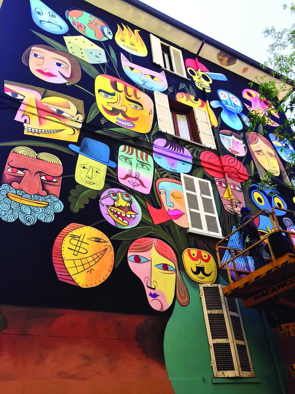 MURO: i protagonisti della street art internazionale in otto località italiane in onda su SKY ARTE