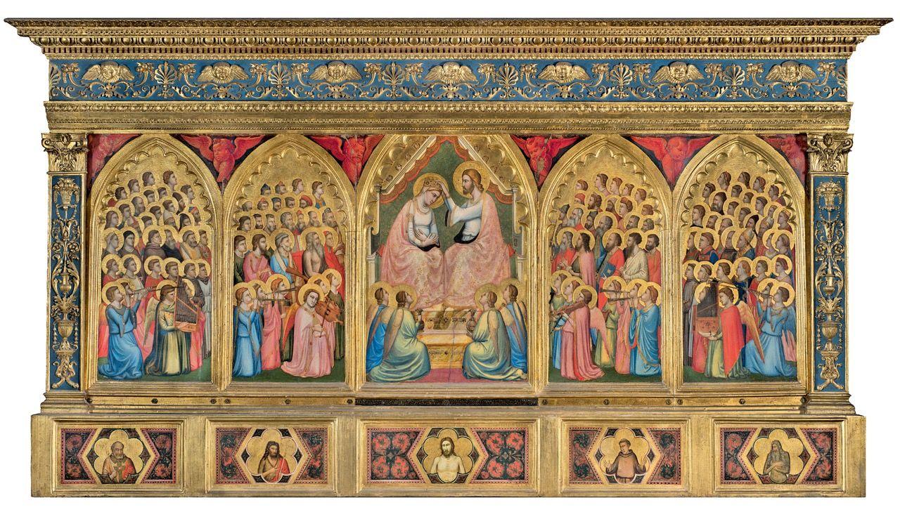 Giotto, Polittico Baroncelli