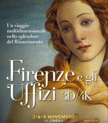 Locandina Firenze e gli Uffizi-Viaggio ne cuore del rinascimento