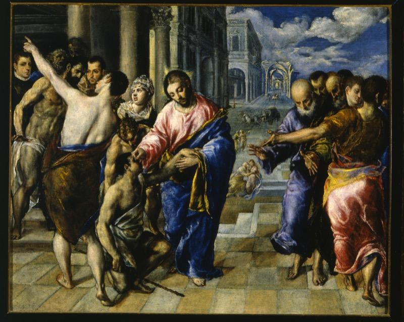 El Greco_GuarigionedelCieco_GalleriaNazionaleParma