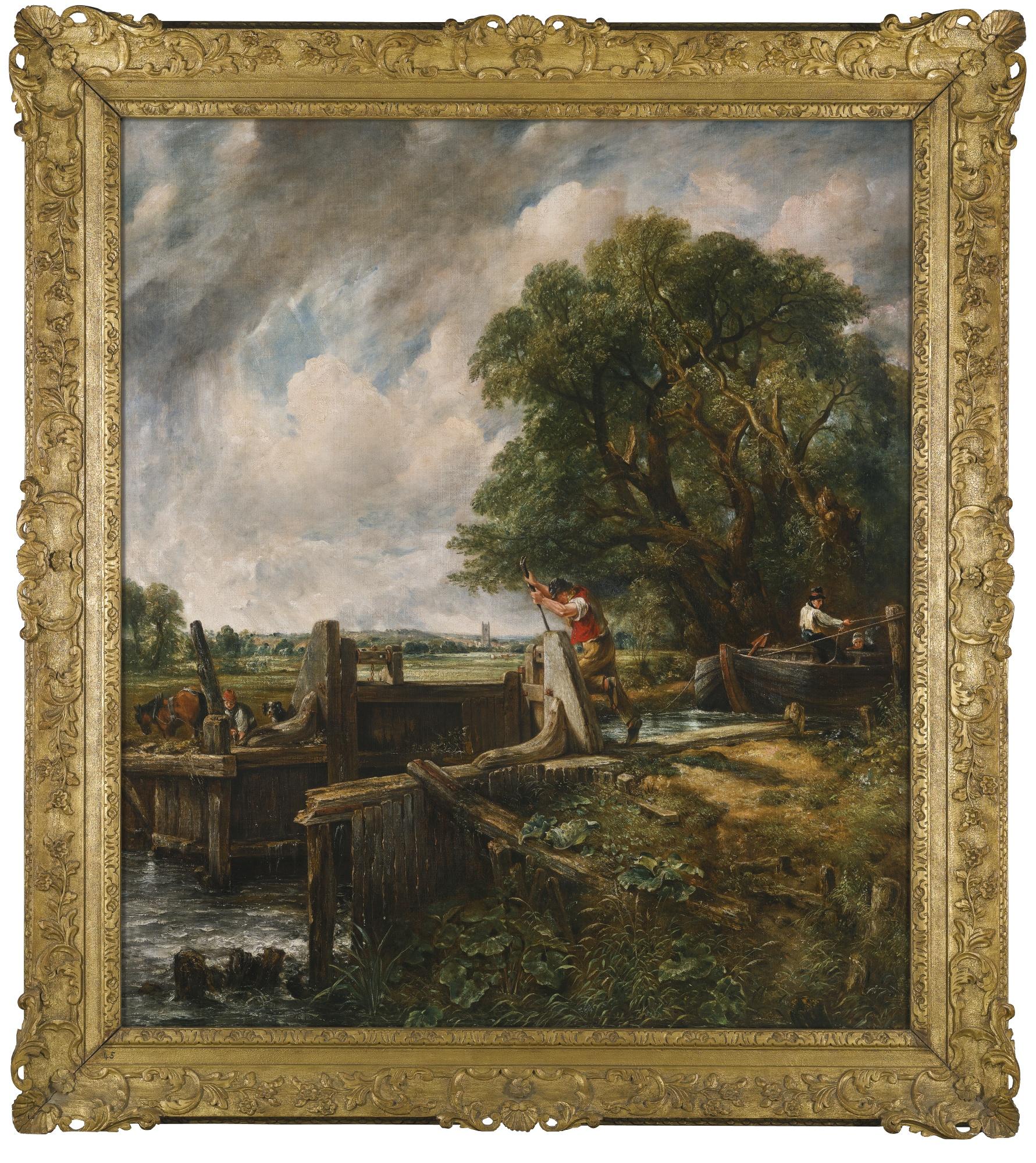 The Lock di Constable venduto in asta per 9.1 milioni £