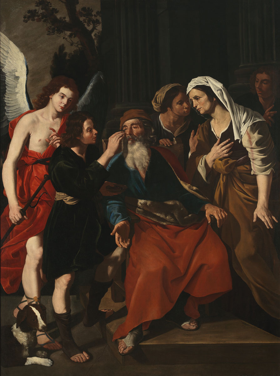 Hendrick De Somer - Tobia ridona la vista al padre - Collezione Intesa Sanpaolo copy