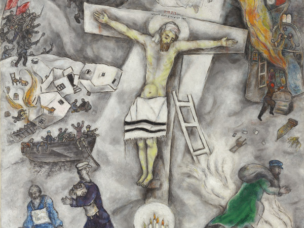 Marc Chagall, Crocifissione bianca, 1938