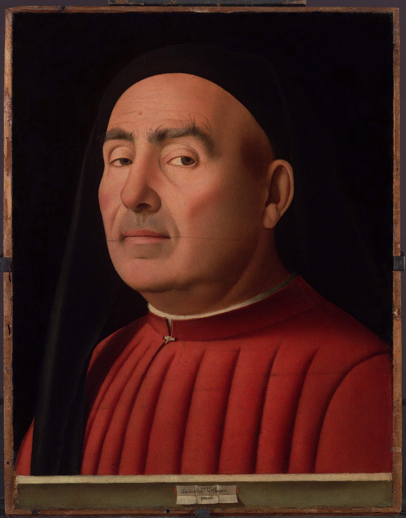 Antonello da Messina, Ritratto d'uomo, 1476