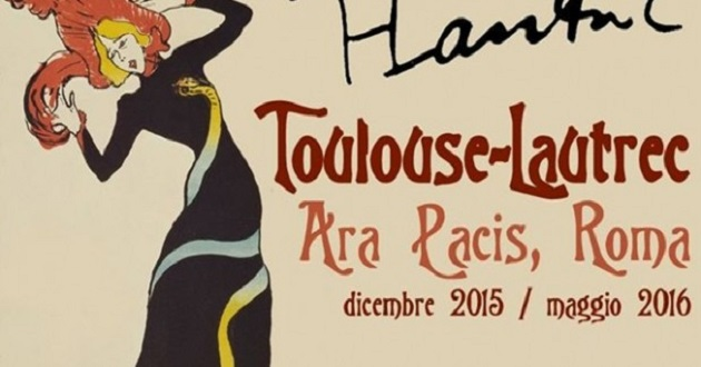 Toulouse Lautrec in mostra a Roma. 170 litografie all'Ara Pacis
