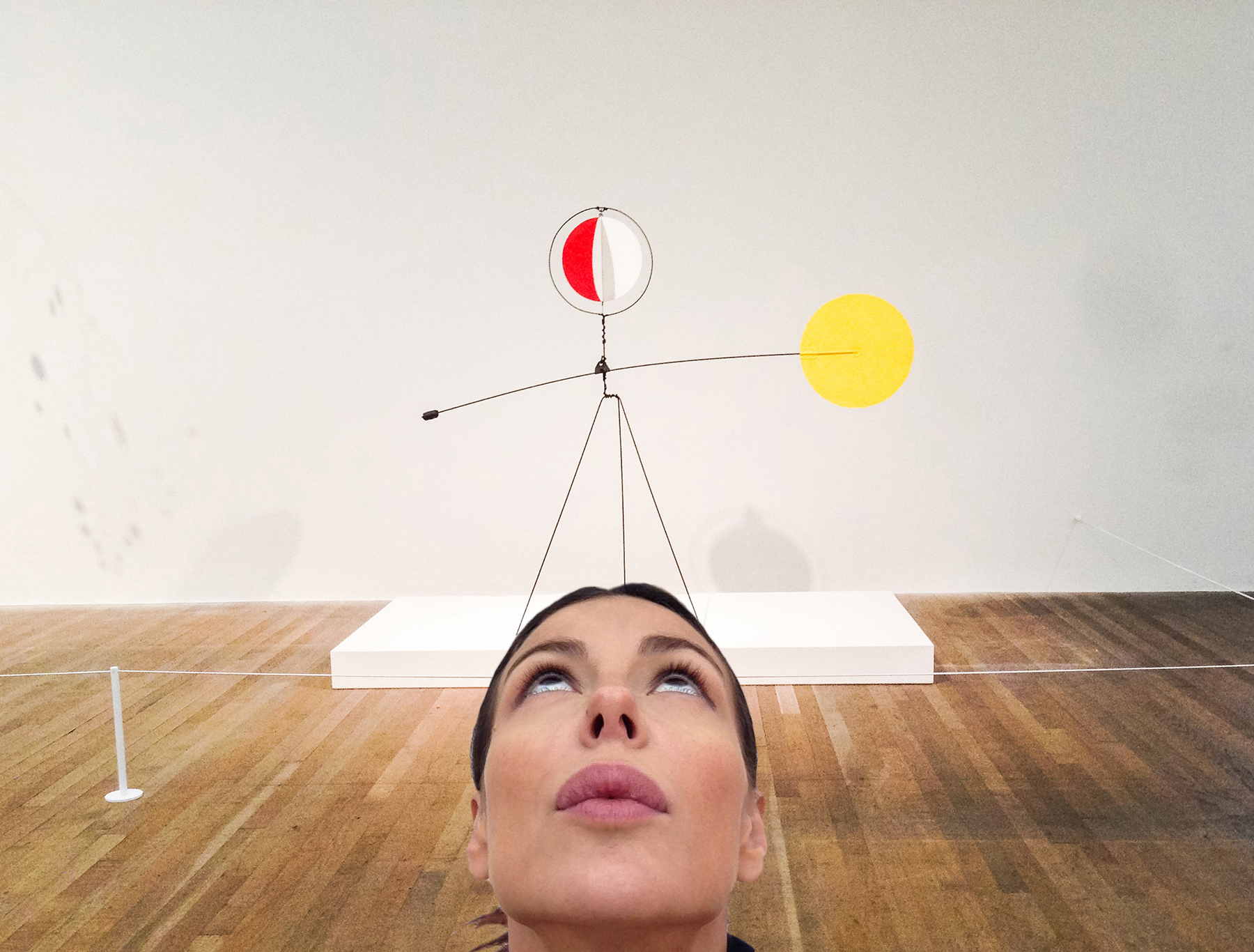 "#SELFIEADARTE ""uhm"" #AlexanderCalder @TATE #London Red and Yellow Vane, 1934 @CleliaPatella"