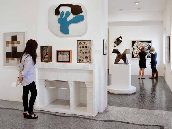 Peggy Guggenheim e la postwar era