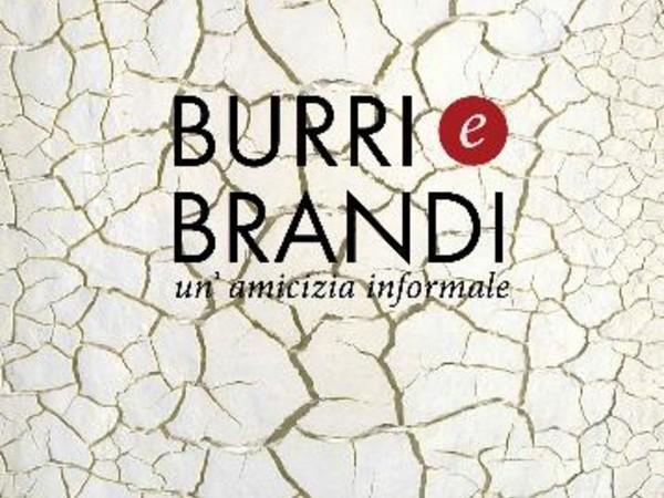 Burri e Brandi, un'amicizia informale. A Siena fino al 31/01