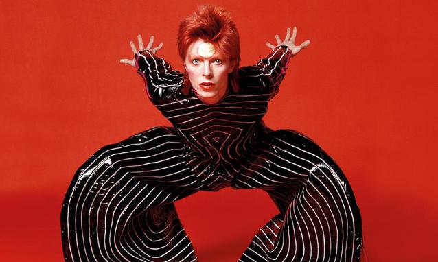 David Bowie arriva al MAMbo di Bologna