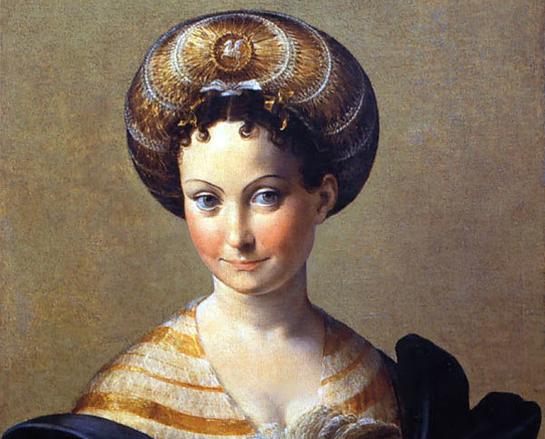 Parmigianino - Schiava turca, 1533