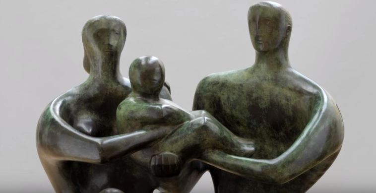 Henry Moore a Roma. Il bronzo si plasma per le Terme di Diocleziano