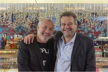 Damien Hirst e Mark Hix