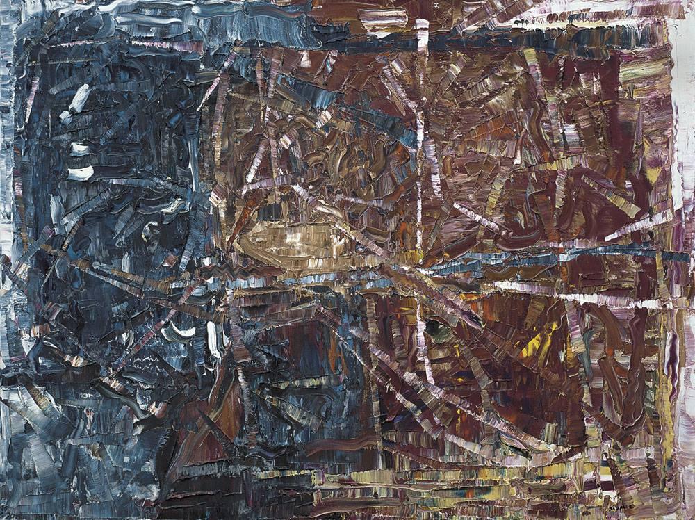 Jean Paul Riopelle a € 190.000 da Meeting Art a Vercelli
