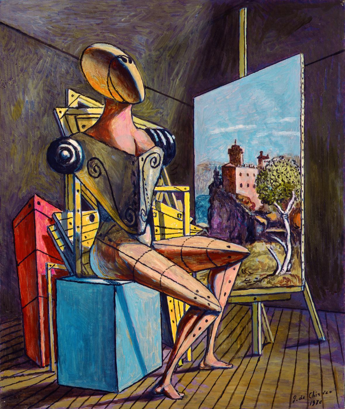 Giorgio de Chirico Il contemplatore, 1976