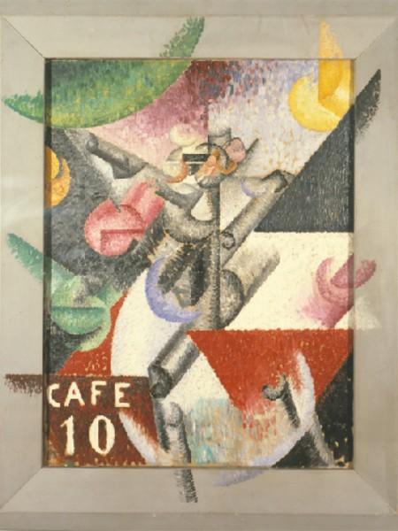 Gino Severini: Ritmo plastico del 14 luglio, 1913