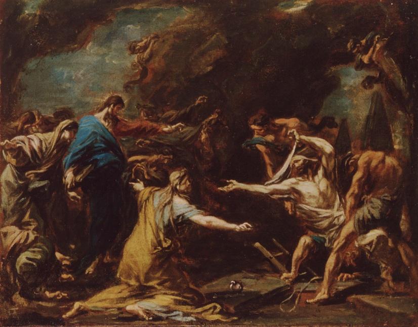 Risurrezione di Lazzaro, Alessandro Magnasco