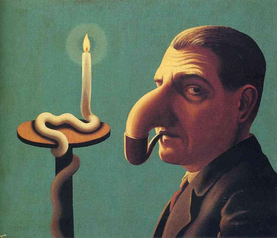 R. Magritte, Il lume filosofico, 1936