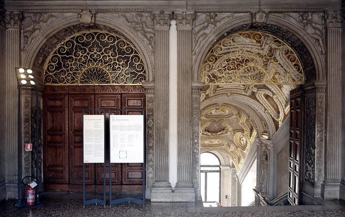 Venezia: al via il restauro del portale della Scala d'oro di Palazzo Ducale