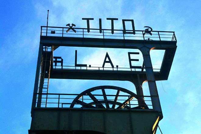 A Labin l'utopia diventa realtà con la I^ Biennale di Arte & Industria