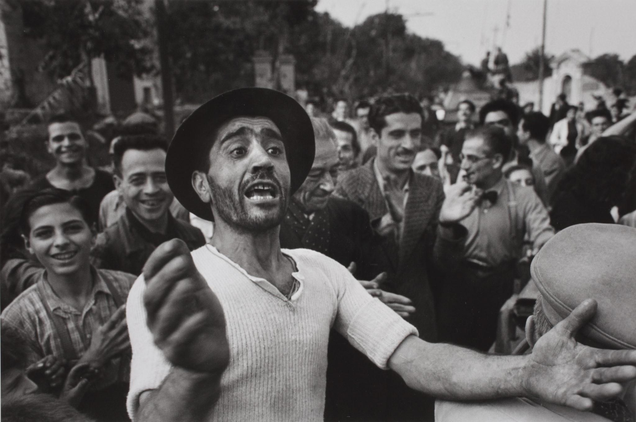 Benvenuto alle truppe americane a Monreale, 23 luglio 1943