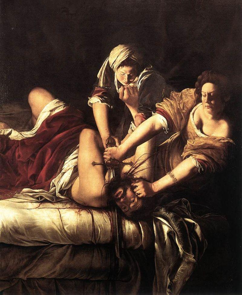 Giuditta che decapita Oloferne Giuditta che decapita Oloferne Autore Artemisia Gentileschi Data 1620 cr