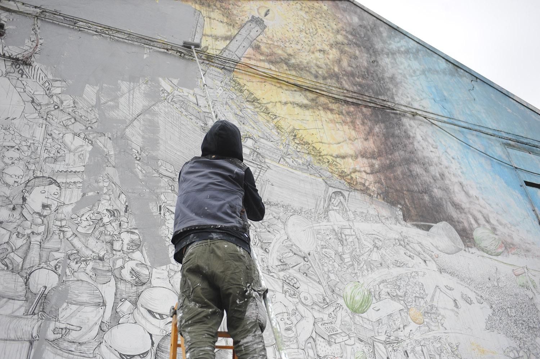 Blu street artist - ArtsLife
