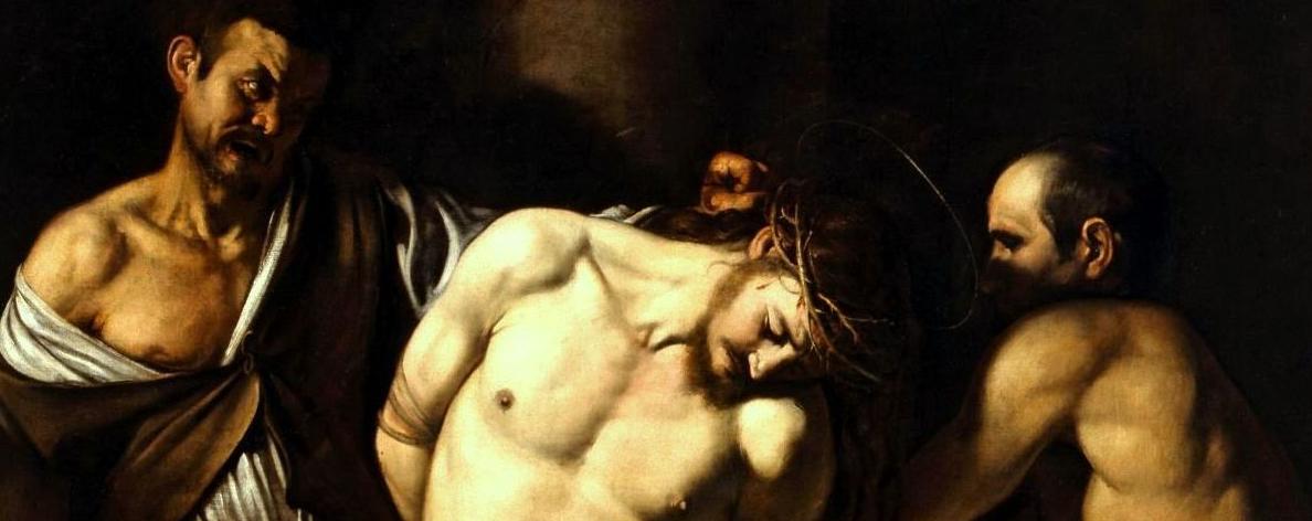 Caravaggio, La Flagellazione di Cristo, 1607-1608