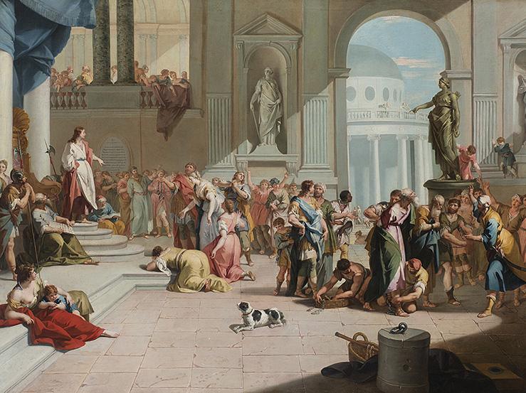 Due luminosi dipinti di Sebastiano e Marco Ricci in asta da Il Ponte