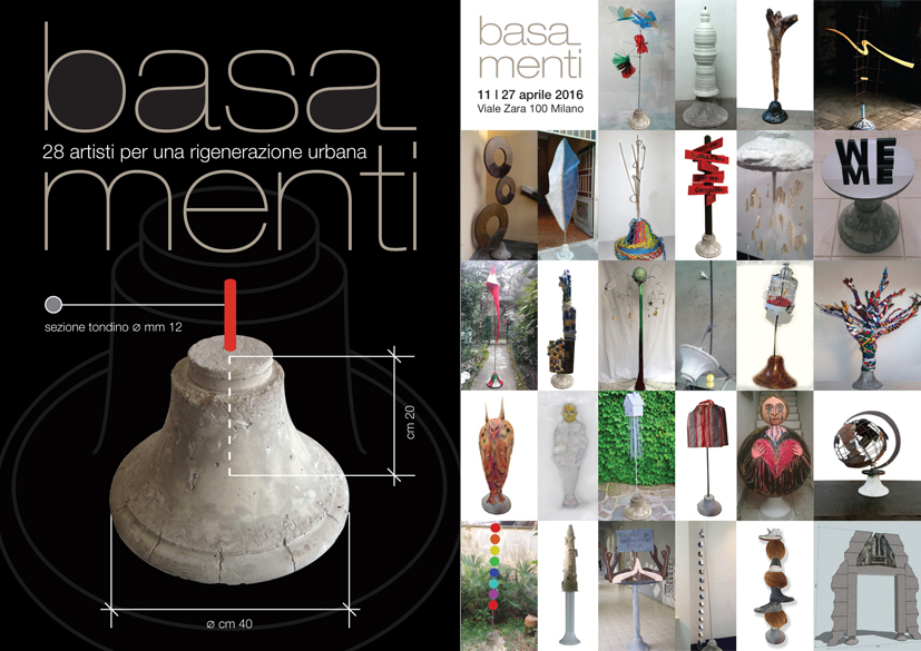 Basa_Menti Milano. 28 artisti per una rigenerazione urbana