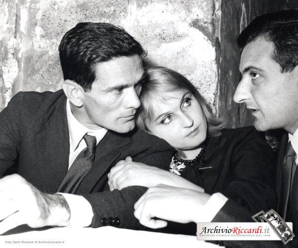 Pier Paolo Pasolini - 1960 -Premio Strega con Laura Betti