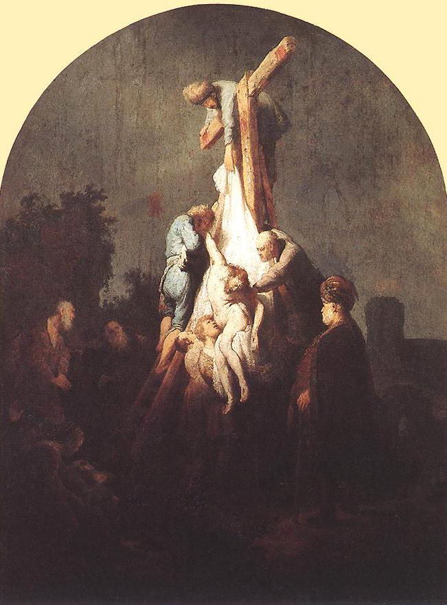 Rembrandt, Deposizione dalla croce, 1633 ca