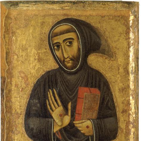 Margaritone d'Arezzo (1250 – 1290 ca), San Francesco, tempera su tavola