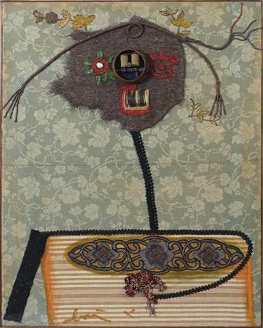 Un collage di Baj del 1960 in asta da Meeting Art
